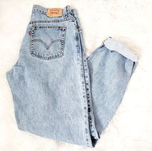 Levi's 550 Classic Relaxed High Rise Western Jeans